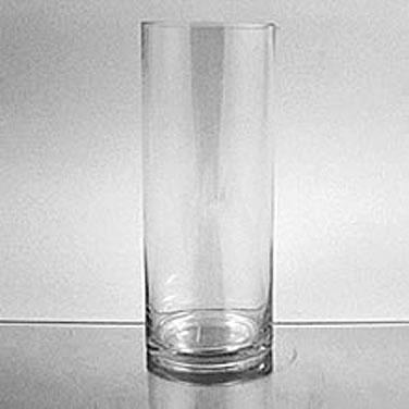 Glass Cylinder Vase 10 X 4