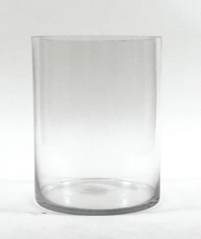Glass Cylinder Vase 10 X 8