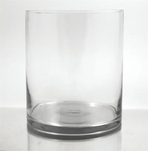 Glass Cylinder Vase 12 X 9