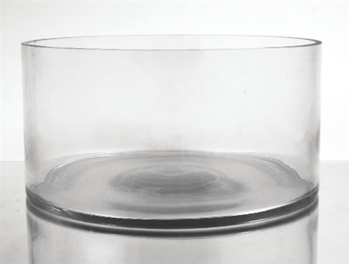 Glass Cylinder Vase 6 X 12
