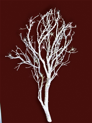 White Sparkle Manzanita Branches 18 Quot 24 Quot Blooms And Branches