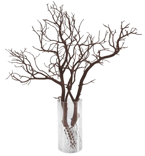 Manzanita Branch Party Pack 12 Complete Centerpieces Shipping
