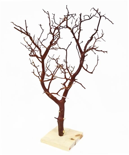 "Manzanita branches, 18"" tall."