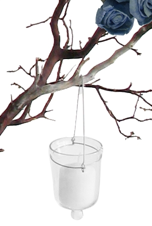 Hanging Votive Candle Holders Clear