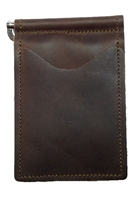 mahogany colored back saver wallet