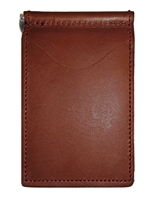 Premium bourbon red - back saver wallet
