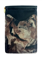 black wallet with advantage timber camo pockets