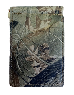 Camo - realtree hardwoods - back saver wallet
