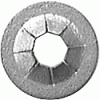 Auveco 8863 Flat Push On Retainer for non threaded fasteners 100ct