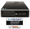 Fast HP 8000 Elite (Windows 7 Professional 250GB Intel Quad Core 2.66 GHz, 4GB, DVD/RW) Desktop PC