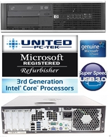 hp Elite 8300 Desktop Intel Core i5 Quad Core up to 3.6GHz USB 3.0 WiFi Ready