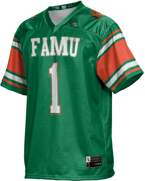 ProSphere Women/'s Shaw University Scramble Football Fan Jersey Shaw