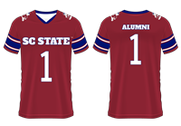 South Carolina State University Replica Football Jersey, South Carolina State University Alumni, South Carolina State University Gear, SCSU Gear