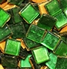 Crystal Metallic Tiles..Emerald..3/8""