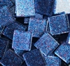 "Glitter Tiles..3/4""..Dark Blue Confetti"
