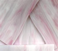 Light Cotton Candy Pink Stained Glass