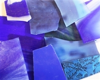 Assorted Blue Stained Glass 15% OFF!