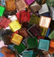 "Assorted Crystal Metallic Tiles..3/8""  25% OFF!"