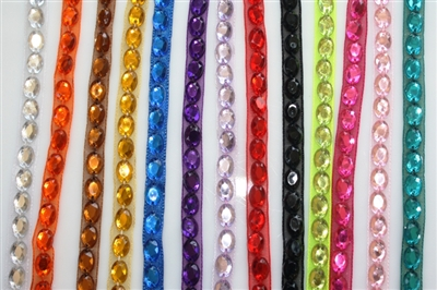 Assorted Narrow Beaded Trims