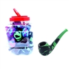 24 Silicone Pipes Jar