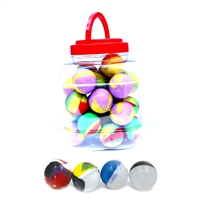 30 Pieces Silicone Ball Container  - Jar