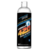 420 Soak-N-Rinse Glass Cleaner..  16oz
