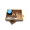 Afghan H Wooden Roller Stash Box/Kit