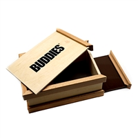 Buddies Wooden Pollen Sifter Storage Box (Medium)