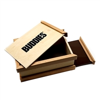 Buddies Wooden Pollen Sifter Storage Box (Large)