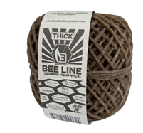 BEE LINE Thick Hempwick Spool 200ft 1ct