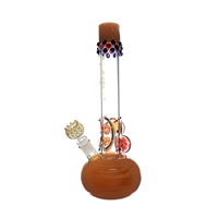 C2109 Crystal Glass Water Pipe 15.5''