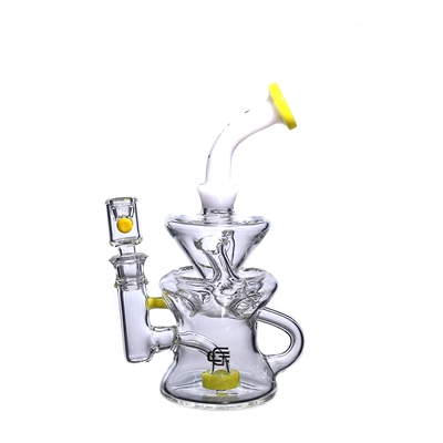 C6013 Crystal Glass Recycler  8''