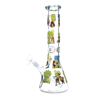 14'' Beaker Base 7MM Heavy Water pipe