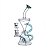 C6153 Crystal Glass  Recycler 8.5''