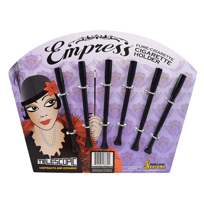 EMPRESS TELESCOPIC CIGARETTE HOLDER / DISPLAY OF 6