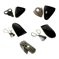 Metal Cigar Cutters Stainless Steel ( 12 PIECES )