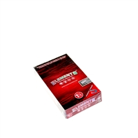 Element RED Hemp Rolling Papers 1¼ size. Box-25