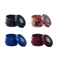 Green Monkey 4 Pieces 2.0'' Zinc ( Drum-style )  Grinder