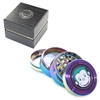Green Monkey 4 Pieces 2.0'' Zinc  Grinder Rainbow