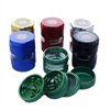Green Monkey 5 Pieces 50MM Aluminum  Grinder / Removable Screen