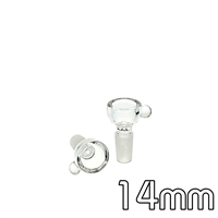 Cone Shape Heavy Clear 14mm Bowl