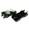 3PCS BLACK CAR  GRINDER
