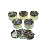 Bling Insect  3 Pieces 2.0'' Golden Grinder