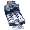 3 Parts Zinc Large Coin Grinder Display (12pcs)