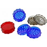 Plastic Grinder 2.75'' 2 Piece With Magnet