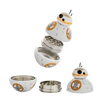 BB-8 2'' Zinc Grinder 3 Piece With Screen