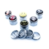4 PIECE METAL GRINDER 42MM With Sticker