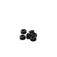10MM Donut Rubber Grommet Black