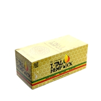 ITAL 3.5ft Small Size Hemp Wick  Box-50
