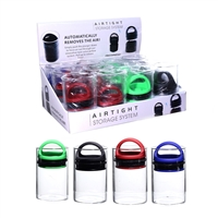 Sav-Vac Airtight Glass Vacuum Jar (12 per display)